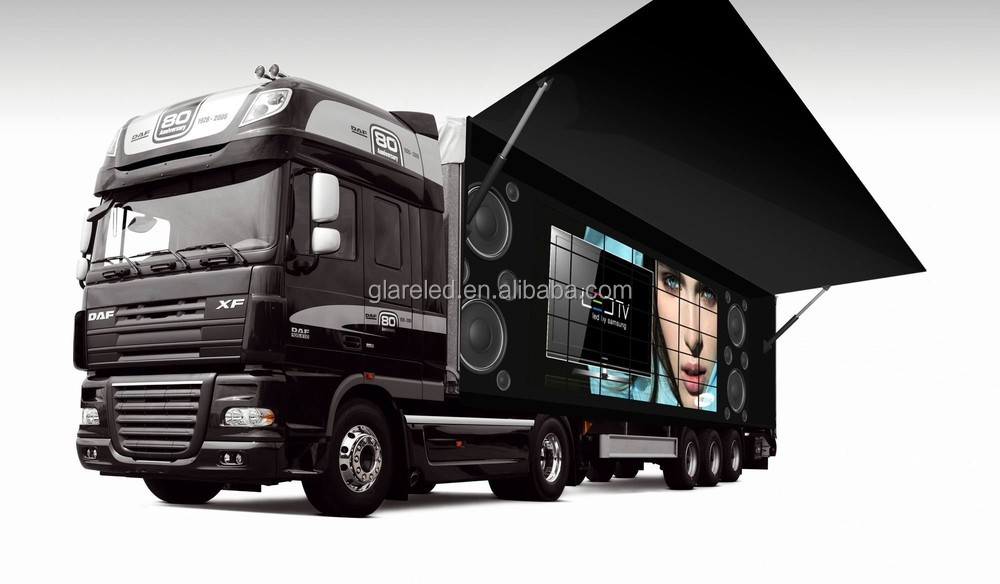 SMD outdoor Truck/Mobile LED Board solution Truck & Trailer LED Displays led mobile stage truck for sale