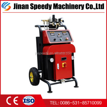 SY-A500 high pressure wall spray foam machines Polyurethane insulation