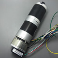 57mm Brushless dc motor with planetary gearbox, optical encoder and electric brake
