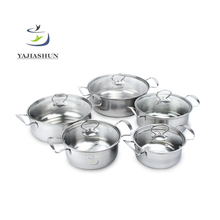 Free Germany Stainless Steel Kitchen Queen Cookware Set Induction