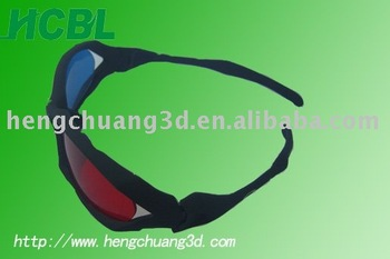 promotion red and cyan 3d glasses, Complementary color 3d glasses