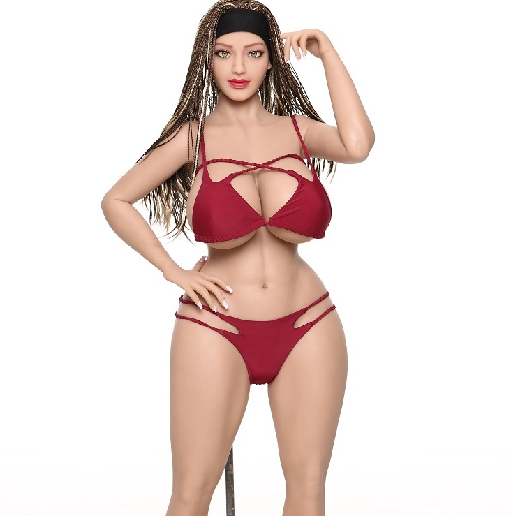 ClimaxDoll 155cm huge breast Fat Oral Anal Vagina Silicon big ass silicone sex doll For Men real dolls