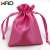 Wholesale cheap new style high quality drawstring satin bag