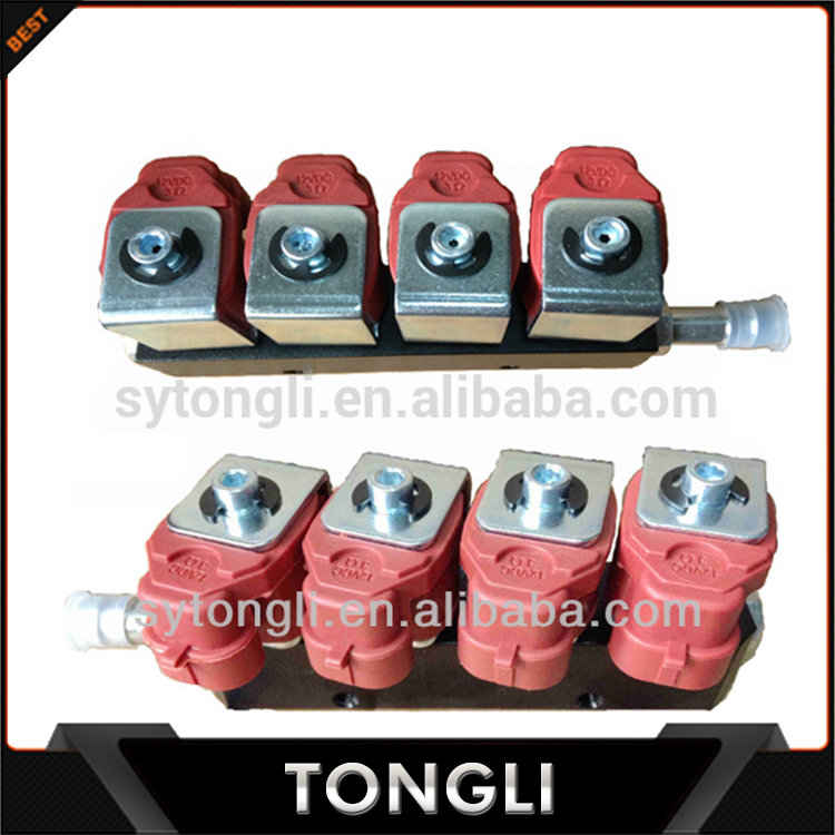 Hot Selling 4cyl cng/lpg injector rail for autogas conversion kit