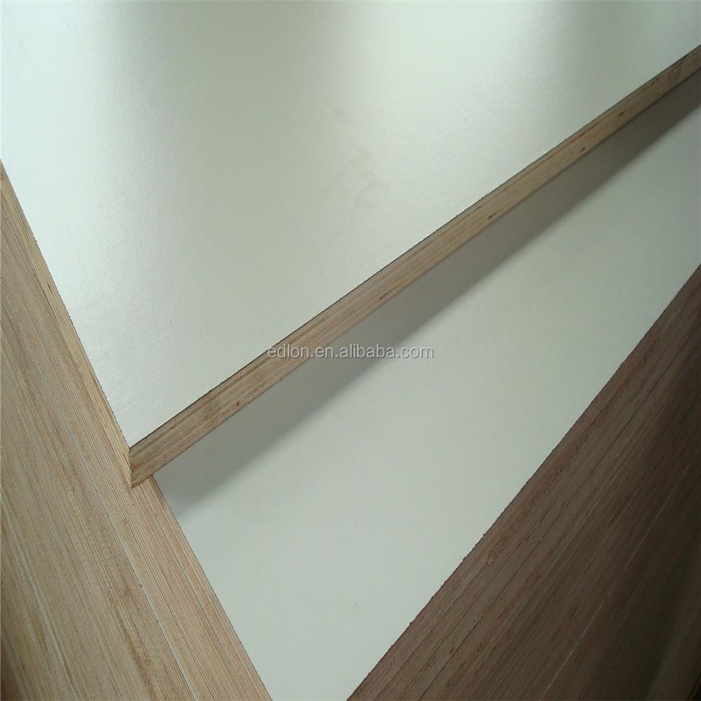 Mm white melamine laminated wood boards hpl plywood