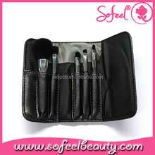 Sofeel small 5pcs makeup brush kit promotion brush set christmas gift