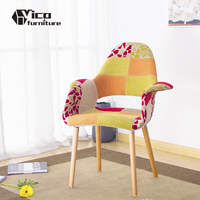 best price design by famous designer living room furniture cloth cover organic sofa chair