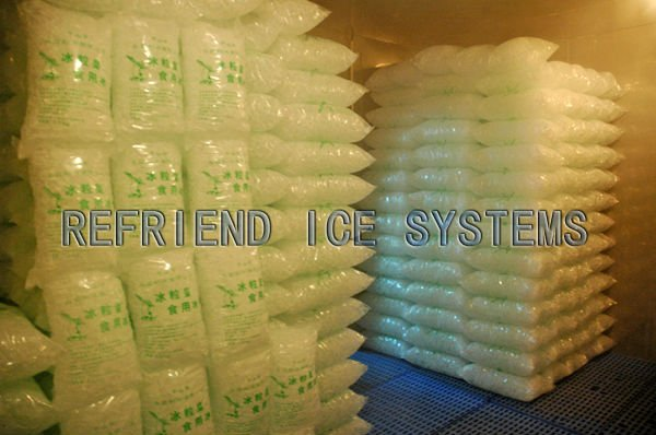 25T Industrial Tube Ice Plant with Packing System