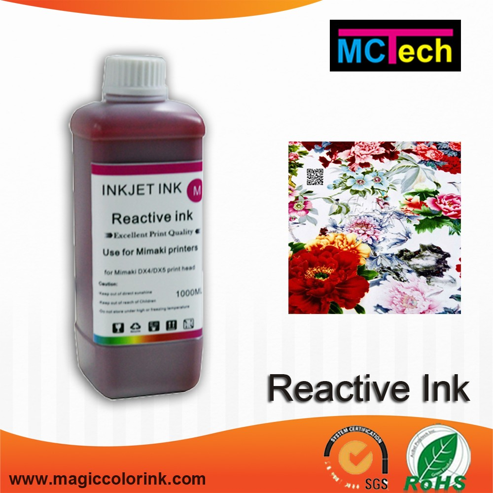Digital Textile Printing Reactive Ink for silk and wool