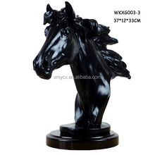 Decorative resin animal craft wholesale resin horse figurines