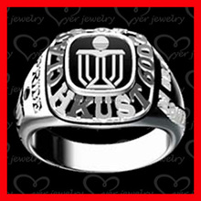 Byer made top quality signet university graduation rings as gift