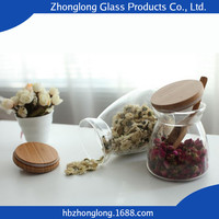 Alibaba New Products Transparent Glass Jar Ring Seal