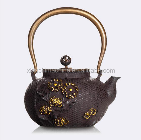 Discount cast iron teapot set & teapot