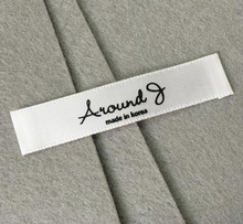 high quality garment woven tag labels for clothing