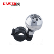 Silver Car Steering Wheel Suicide Spinner Knob