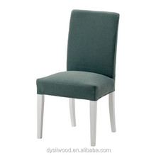 Wood frame upholstered chair for dining room