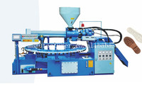 One color PVC/TPR soles injection moulding machine