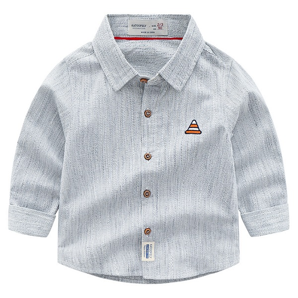 Online Shopping Child Cotton Long Sleeve Shirt Boy Shirt Of New Products Looking For Distributor