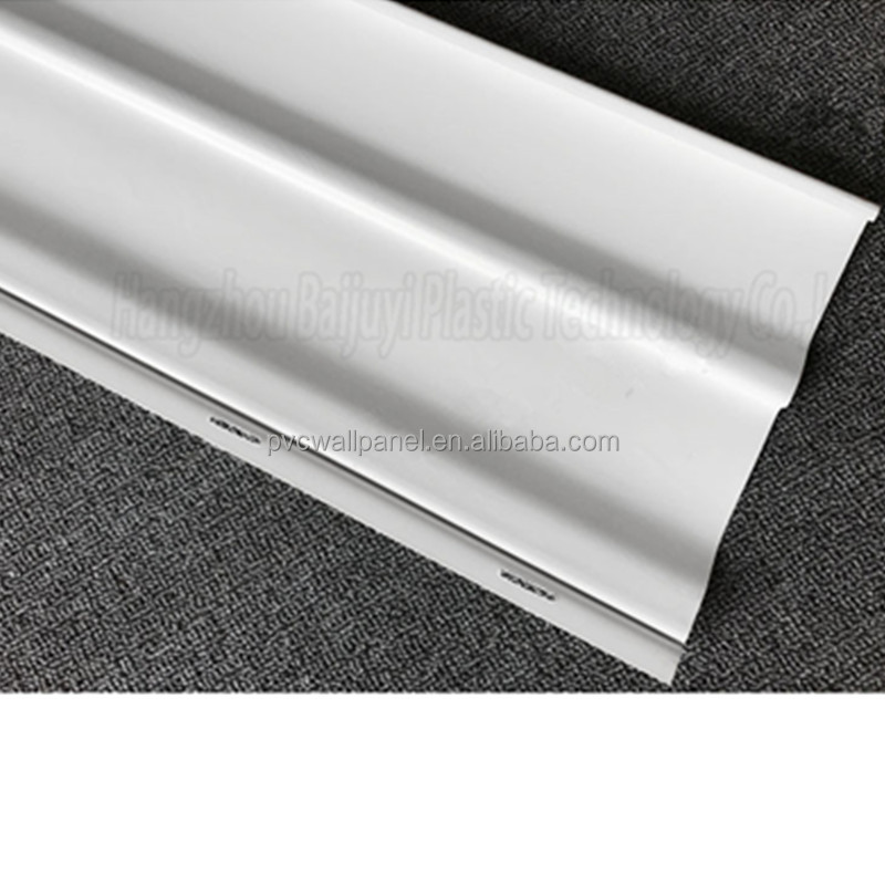 1.1mm thickness white Excellent weathering performance long service life expanded pvc plastic false ceiling pvc board