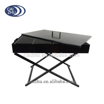 Guangzhou Durable Black Iron outdoor charcoal bbq grill