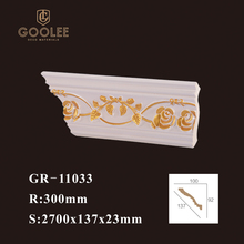 Goolee PU Carved Corner Foam Cornice Decorative Moulding