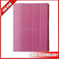 Ultral Thin Smart Leather Cover Case for ipad air with magnetic belt leather case for ipad