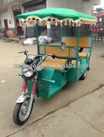 Electric tricycle for 4 passengers used for rickshaw Very popular in India Market