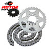 Motorcycle Chain and Sprockets Kit for YAMAHA TW125