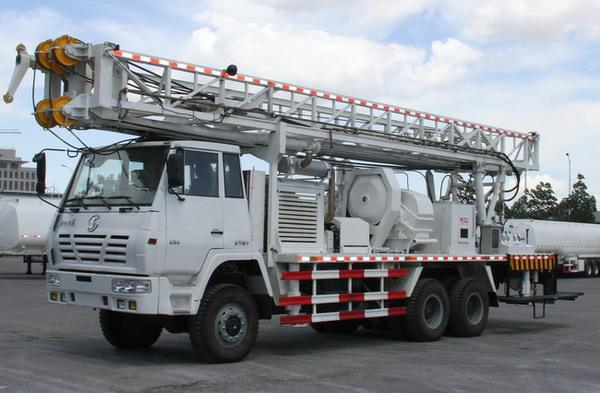 Hot Sale! 300meters Hydraulic Truck-mounted Water Well Drilling Rig
