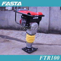 Narrow soil ground area tamping machine, tamper rammer for sale