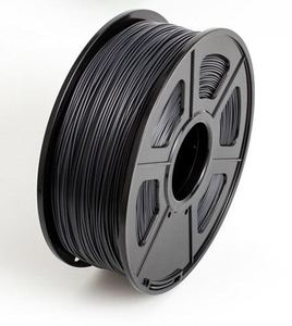 FDM 3D printer 1.75mm ABS conductive filament for 3d printer 1kg/400m, Black