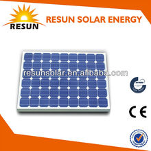 Hot sale 65W mono solar panel / solar panel with TUV CE manufacturer form China