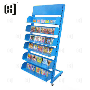 Hot iron CD/DVD storage display rack stand book shelf
