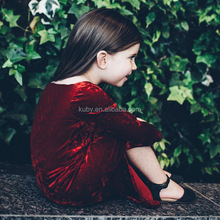 New China Stylish Baby Girls Long Dresses Fashion Top Party Dress