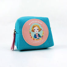 LANGUO flower coin wallet/ fashion ladies wallet with coin purse model:LGHH-1830