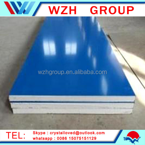 Cheap roofing materials exterior decorative metal wall panel eps sandwich panel from china supplier