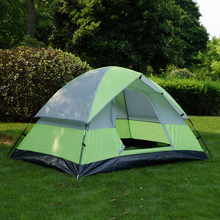 2 Person Fiberglass Pole Family Outdoor Waterproof Camping Tent