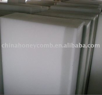 PC honeycomb sandwich panel for building material