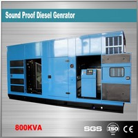 China suppliers 800kva silent generator diesel 1500rpm