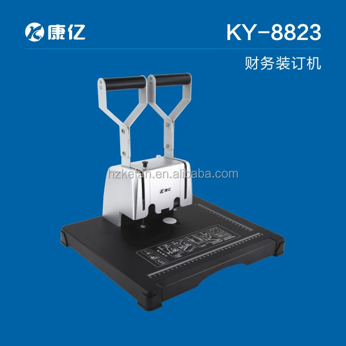 Hot financial binding machine/book binding machine KF8823 for office using