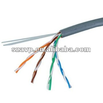 UTP Cat5e 0.5mm solid copper with PVC/RoHS/LSZH jacket