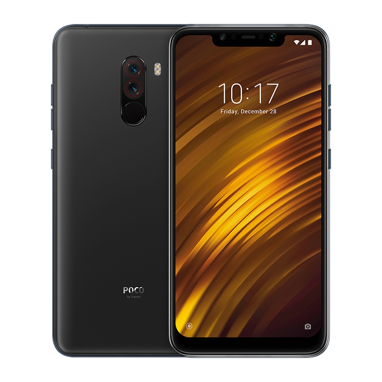 Original Xiaomi POCO F1 6GB+64GB IR Face Unlock + Back Fingerprint Identification 6.18 inch Smart Phone Cheap Mobile Phone