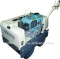 WKR700 mini road roller hydraulic drive by Japanese pump wate cooled diesel engine