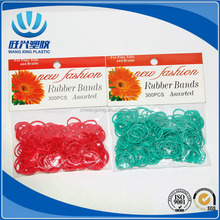 factory directly /colorful ring/ elastic rubber bands with opp packing