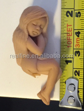 Custom Design Resin Fairy Statues with Pianted Light Skin Color