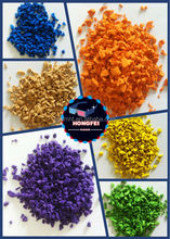 UV-resistant color epdm granules for playground flooring, sports surface