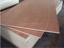 High quality and good price Faced natural oak Veneer hardboard