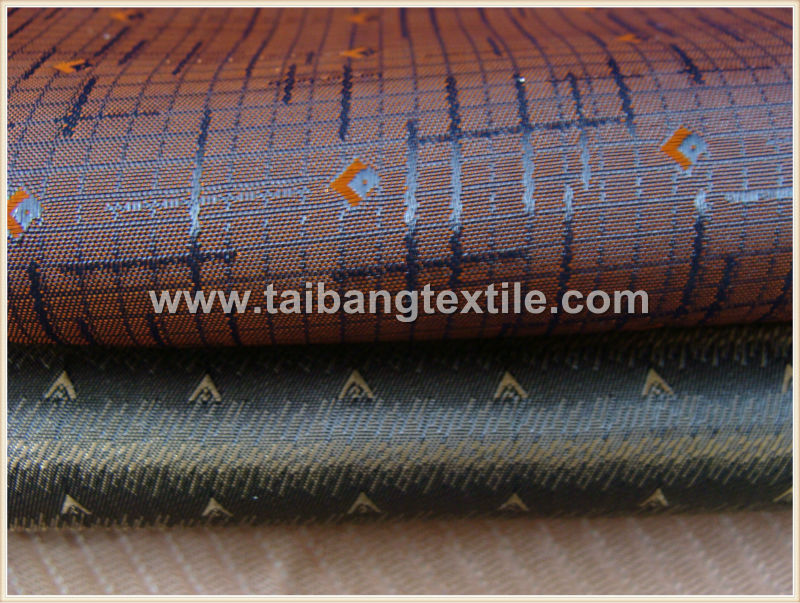garment fabric with line jacquard for the lining of the jacket ,suit and leisure cloth