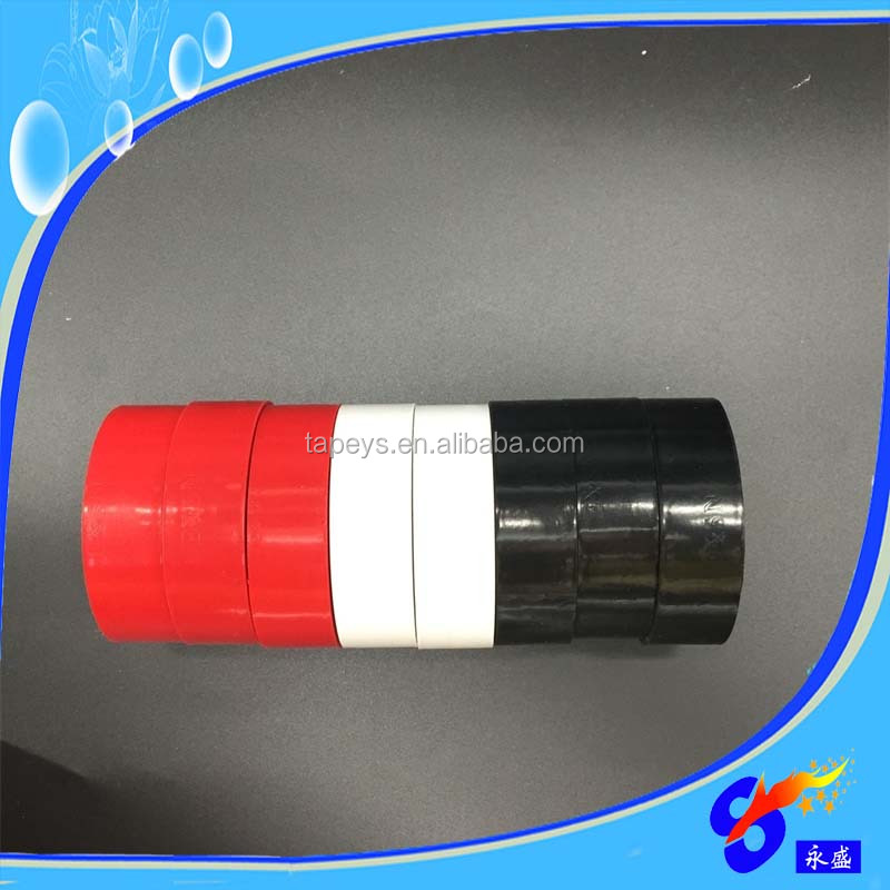 China factory wholesale price black PVC insulating electrical Tape