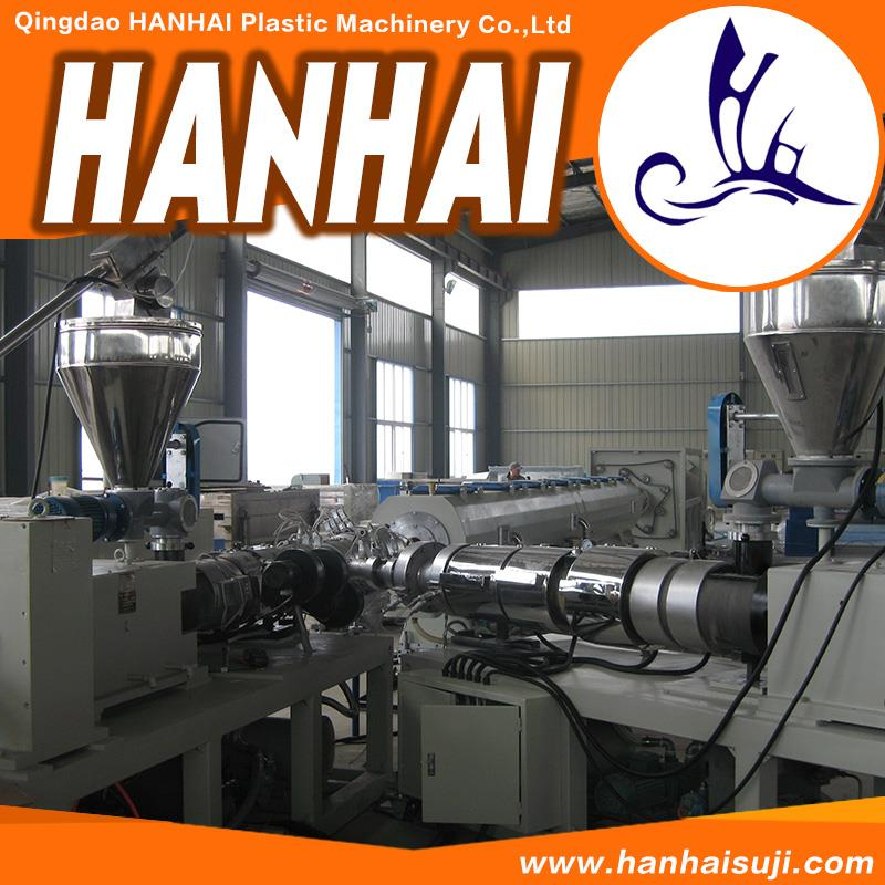 Hot selling pvc conduit pipe price list plastic tube making machine chinese plant